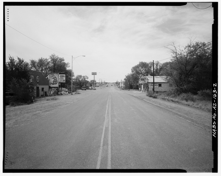 Route 66 Old Highway Apache Drive | photo: National Park Service
