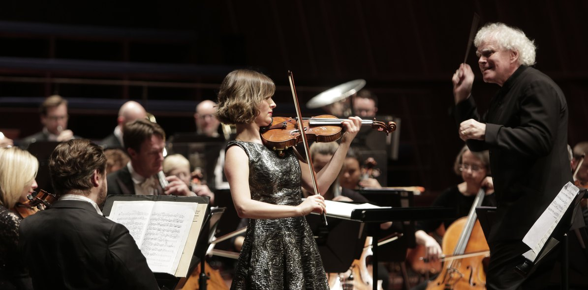 Sir Simon Rattle / Lisa Batiashvili / LSO
