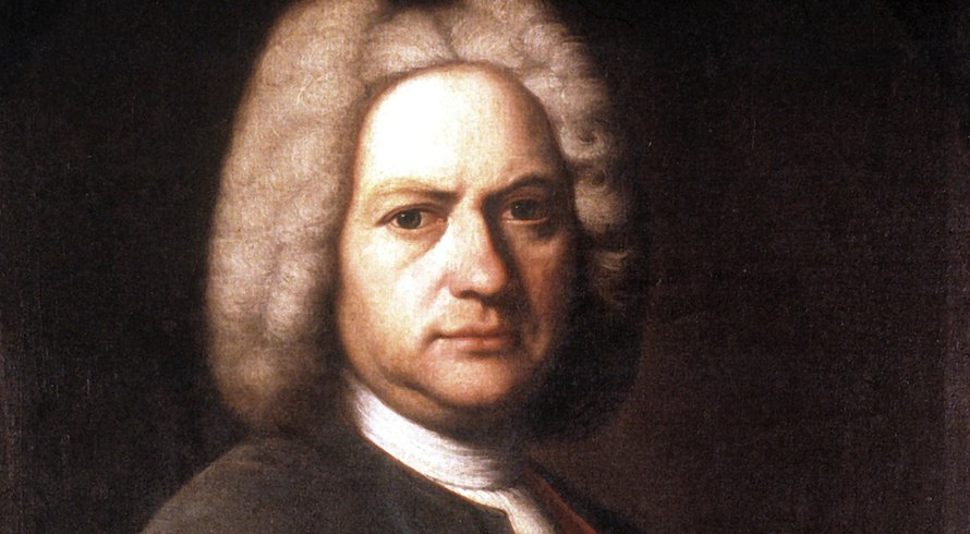 Johann Sebastian Bach, oil on canvas by JJ Ihle, 1720